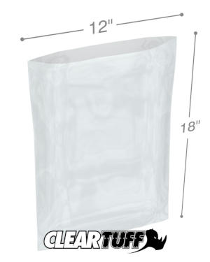 12 x 18 1 mil Poly Bags