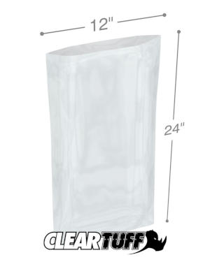 12 x 24 1.5 mil Poly Bags