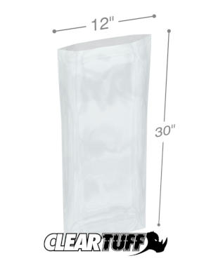 12 x 30 1.5 mil Poly Bags