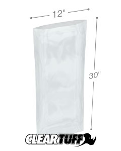 12 x 30 2 mil Poly Bags