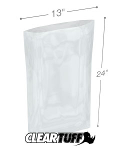 13 x 24 4 mil Poly Bags