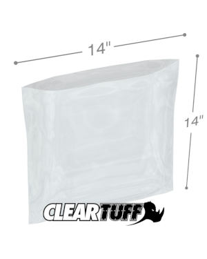 14 x 14 1 mil Poly Bags