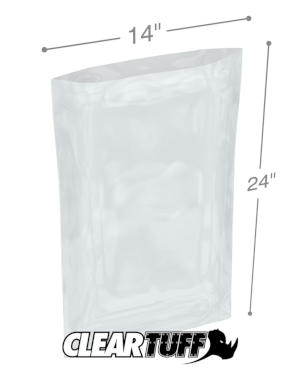 14 x 24 1 mil Poly Bags