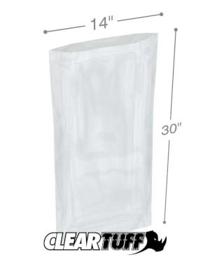 14 x 30 1.5 mil Poly Bags