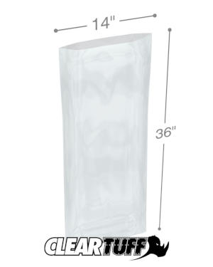 14 x 36 1.5 mil Poly Bags