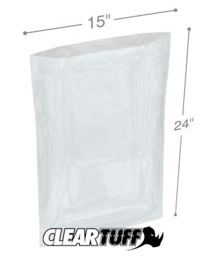 15 x 24 1 mil Poly Bags