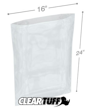 16 x 24 1.5 mil Poly Bags