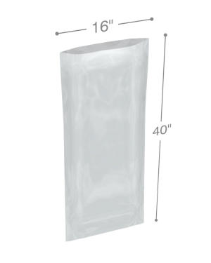 16 x 40 1 mil Poly Bags