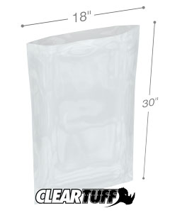 18 x 30 2 mil Poly Bags