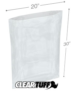 20 x 30 2 mil Poly Bags
