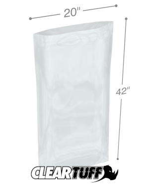20 x 42 1 mil Poly Bags
