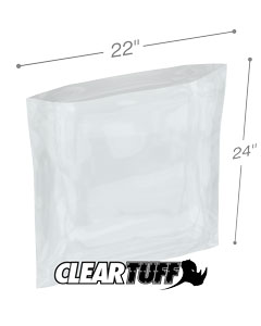 22 x 24 4 mil Poly Bags