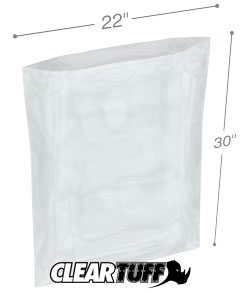 22 x 30 2 mil Poly Bags