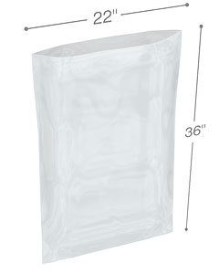 22 x 36 2 mil Poly Bags
