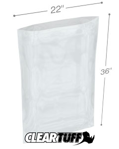 22 x 36 3 mil Poly Bags