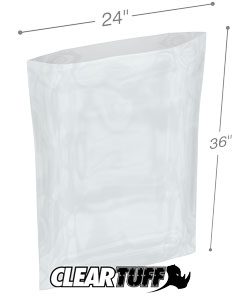 24 x 36 3 mil Poly Bags