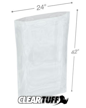 24 x 42 1 mil Poly Bags