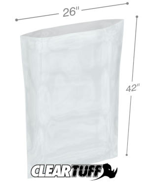 26 x 42 1 mil Poly Bags