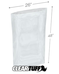 26 x 48 4 mil Poly Bags