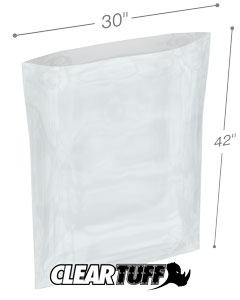 30 x 42 2 mil Poly Bags