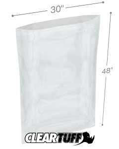 30 x 48 2 mil Poly Bags