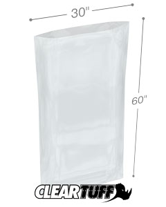 30 x 60 2 mil Poly Bags