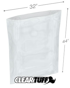 32 x 44 2 mil Poly Bags