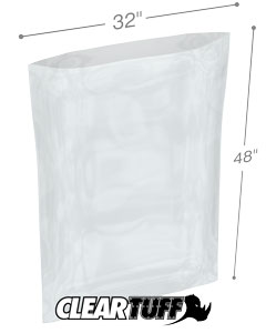 32 x 48 2 mil Poly Bags