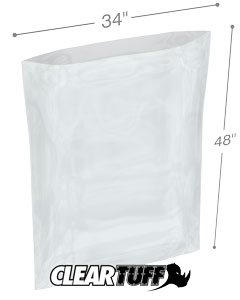 34 x 48 4 mil Poly Bags