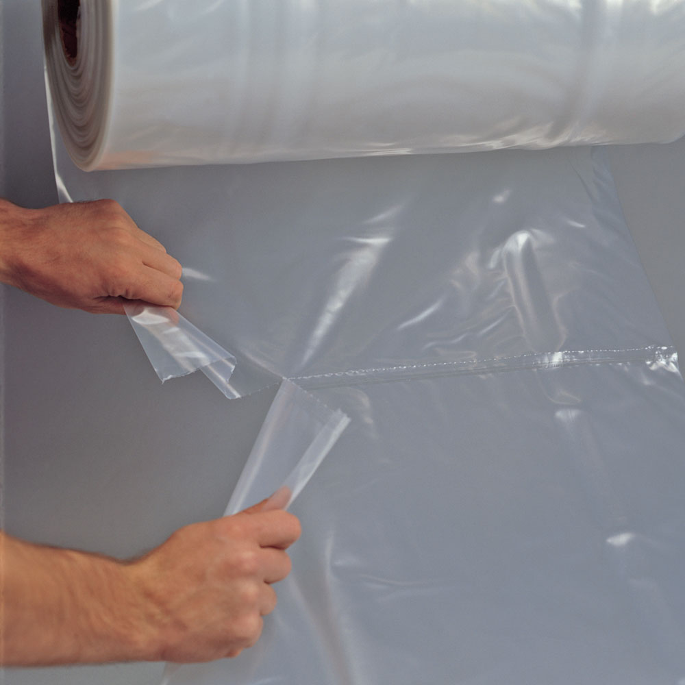 36x48 3mil Flat Poly And Plastic Bags On Roll