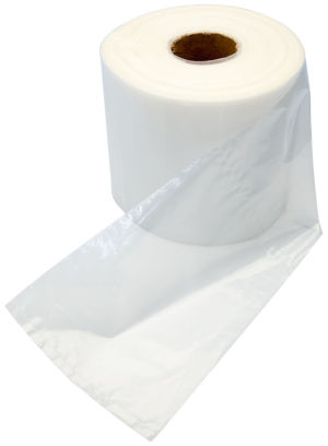 8x10 Flat 4 Mil Poly Bags on Roll