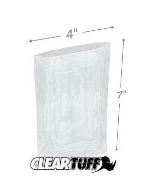 4 x 7 1 mil Poly Bags