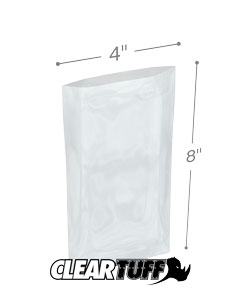 4 x 8 3 mil Poly Bags
