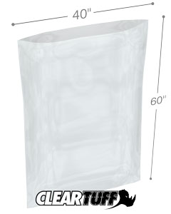 40 x 60 2 mil Poly Bags