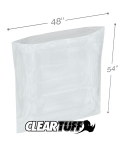 48 x 54 3 mil Poly Bags