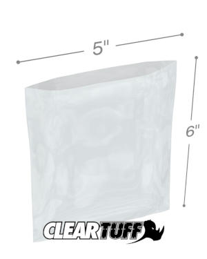 5 x 6 1 mil Poly Bags