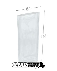 6 x 16 6 mil Poly Bags