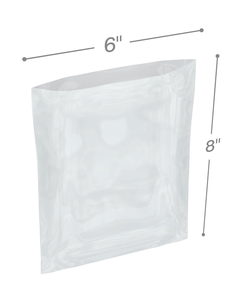 Clear 46 Length Pack of 250 Thick Aviditi AVPB4202 Flat Poly Bags 28 Width Pounds Load Capacity 3 mil