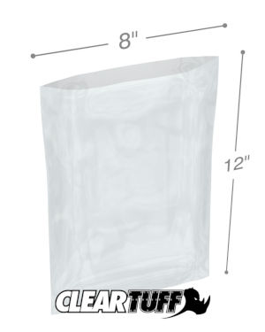 8 x 12 1 mil Poly Bags