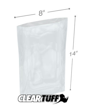 8 x 14 1 mil Poly Bags