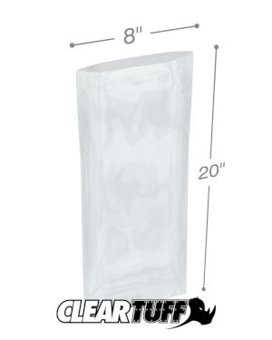 8 x 20 1.5 mil Poly Bags