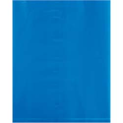 9 x 12 2 mil blue poly bags