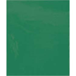 9 x 12 2 mil green poly bags