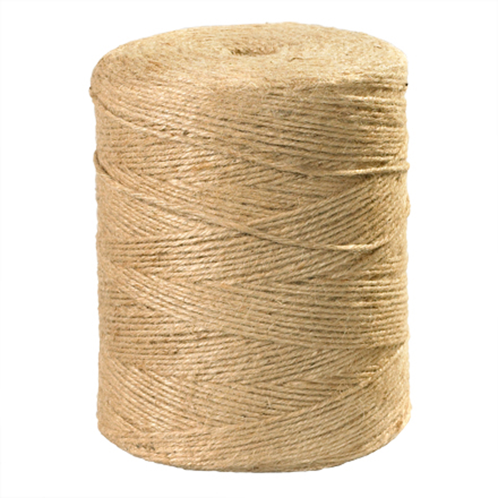 3Ply 84 lb Tensile Strength Jute Tying Twine 5000 feet