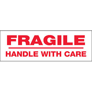 Fragile Handle With Care Carton Sealing Tape