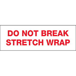 Do Not Break Stretch WrapTape Carton Sealing Tape