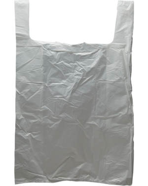 18x28 White T-Shirt Bag