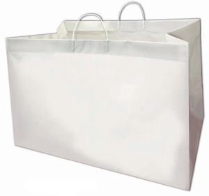 22 x 14 x 15 + 14 Rigid Loop Handle Plastic Shopper