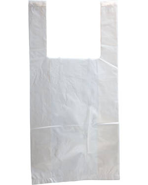 6x12 White T-Shirt Bag