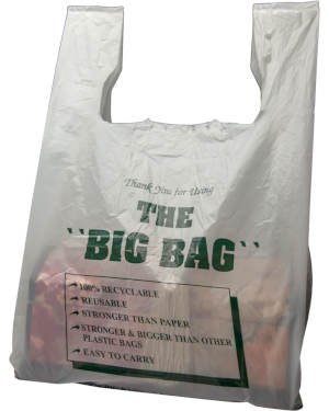 THE BIG BAG Thank You Shopping Bag
